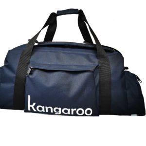 Torbo Plecak Kangaroo 2 w 1 - granatowy