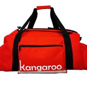 Torbo Plecak Kangaroo 2 w 1 - czerwony